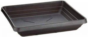 Plastia sous-pot Lotos 40 x 40 cm, anthracite de la marque Plastia image 0 produit