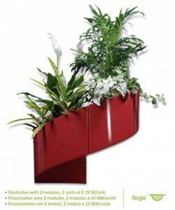pot de fleur intérieur rouge TOP 3 image 0 produit