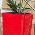 Prosper Plast Durs265–1788C 26.5x 26.5x 50cm URBI Square Pot à fleurs Corail de la marque Prosper Plast image 4 produit