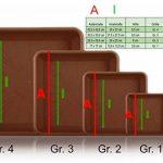 Quattro rectangulaire marron Soucoupe à pot de fleurs carré en plastique Gr. 4 de la marque Erhard-Trading image 2 produit