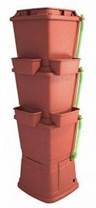 Rainwater Terrace Citerne d'eau 3 niveaux 200 litres. Avec 1 cache-pot et 4 jardinières - Terre cuite de la marque Rainwater Terrace® image 0 produit