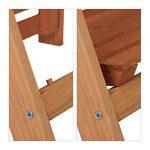 Relaxdays Escalier pour plantes bois échelle plante support intérieur HxlxP: 107,5 x 41 x 25 cm 3 niveaux - marron de la marque Relaxdays image 3 produit