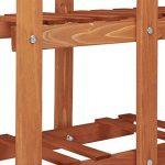 Relaxdays Etagère à fleurs en bois escalier pour plantes 5 niveaux échelle plantes intérieure HxlxP: 125 x 81 x 25 cm marron clair de la marque Relaxdays image 2 produit