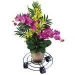 Rokoo Caddy extérieur de plante d'intérieur avec des roues Heavy Duty Fer en pot usine fleur Pot Rack Stand titulaire de la marque Rokoo image 1 produit
