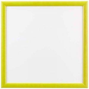 Sgaravatti KalaMitica Plaque Métallique, 30x30 cm avec encadrement en bois, Blanc/Jaune Acid de la marque Sgaravatti image 0 produit