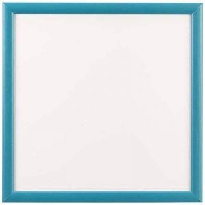 Sgaravatti KalaMitica Plaque Métallique, 30x30 cm avec encadrement en bois, Blanc/Turquoise de la marque Sgaravatti image 0 produit