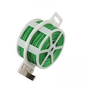 Shintop Attaches de jardin pour plantes, 328Pieds Twist cravates avec cutter, jardin, fil de cravate pour jardinage, maison, bureau (Vert) de la marque Shintop image 0 produit