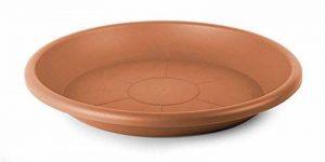 Smart Planet® flórina Soucoupe ronde 29cm de qualité pour pot avec 30cm de diamètre–Terracotta de la marque Smart Planet image 0 produit