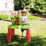 Smoby 840100 - Jeu Plein Air - Table de Jardinage 2 en 1 - + 13 Accessoires Inclus de la marque Smoby image 4 produit
