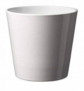 Soendgen Cache-pot de fleurs en céramique, Dallas Style, Argile, weiß, 14 x 14 x 13 cm de la marque Soendgen Keramik image 0 produit