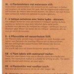 Soldes - Esschert Design - Marquoir pour plantations de la marque esschert image 1 produit