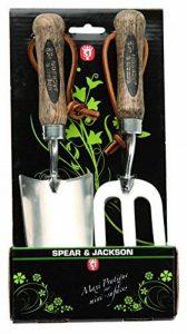 Spear & Jackson 50604 Set de 2 mini outils à fleurs inox de la marque Spear & Jackson image 0 produit