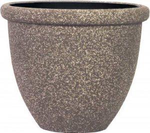 Stone Light SB Lot de 6 pots ronds en pierre Grès moka 37 cm de la marque Stone Light image 0 produit