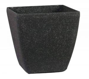 Stone Light SK Lot de 3 pots ronds en pierre Grès noir vieilli 43 cm de la marque Stone Light image 0 produit