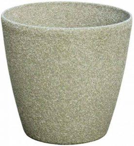 Stone Light SL Lot de 6 pots ronds en pierre Calcaire 22 cm de la marque Stone Light image 0 produit