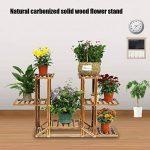 support pot de fleur en bois TOP 12 image 1 produit
