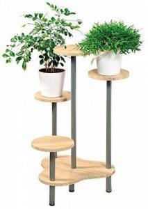 support pot de fleur en bois TOP 6 image 0 produit
