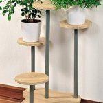 support pot de fleur en bois TOP 6 image 1 produit