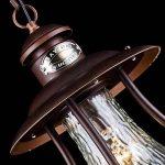Suspension exterieur, Lustre exterieur, Vintage, Antique, lanterne, style rustique, armature en Metal couleur marron, plafonnier en verre,pour maison, escalier,terrasse, 1ampoule E27 60W IP44 220V de la marque MAYTONI DECORATIVE LIGHTING image 6 produit