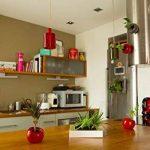 tableau végétal à faire soi-même sans plantes technologie mur végétal (Blanc nacré) de la marque Nina végétal image 4 produit