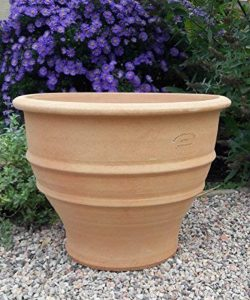Terracotta Pot main de grande qualité et résistant au gel, décoration de jardin pot de fleurs 45 cm de la marque Kreta-Keramik image 0 produit