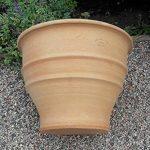 Terracotta Pot main de grande qualité et résistant au gel, décoration de jardin pot de fleurs 45 cm de la marque Kreta-Keramik image 3 produit