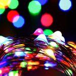 Tuokay 22M 200 LED Guirlande de Lumières 8 Modes de Lumières Imperméables de Cuivre de Fil pour la Décoration de Vacances, Mariages, Noël, Extérieur et Intérieur (Multicolore) de la marque Tuokay image 1 produit
