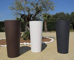 VECA Cachepot Genesis rond haut 38x 85h Blanc de la marque VECA image 0 produit