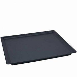 Versace Dunn Roche Bienvenue Plateau Noir avec base en plastique Plateau de service, couverts en plastique rectangulaire avec pieds antidérapants de la marque VERSACE DUNN image 0 produit