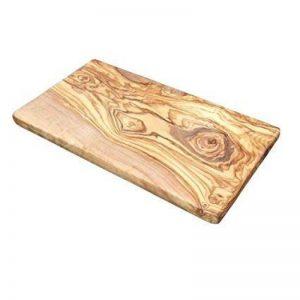 VILLACARTHAGO Villa Car thago élégant en bois d'olivier naturel Planche rectangulaire comme Planche à Découper, Planche à petit-déjeuner ou Soucoupe de la marque VILLACARTHAGO image 0 produit