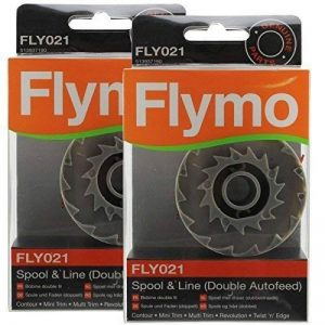 Vrai FLYMO Contour 500 700 Coupe-bordure Bobine & Ligne Double Auto alimentation (Pack de 2, FLY021) de la marque Flymo image 0 produit