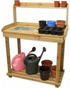 Woodside Wooden Potting/Planting Bench/Table Workshop Work DIY Station by Woodside de la marque Woodside image 0 produit