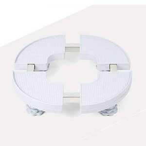 ZZHF yushizhiwujia La base arrondie de coffret de climatisation/appareils augmentent le parenthèse/mobile/support de réservoir de poissons de pot de fleur (taille : 10~13cm) de la marque Zhihui Base de machine à laver image 0 produit